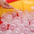 50pcs/lot Baby Safety Transparent White Plastic Pool Ocean Balls Funny Toys US