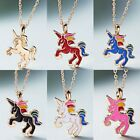 Mythical Magical Animal Charm Horse Pendant Necklace Jewellery Womens Gift New