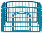 Portable exercise Play Pen pet dog puppy folding play pen kennel crate cage