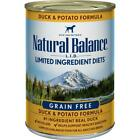 Natural Balance L.I.D. Duck & Potato Canned Dog Food