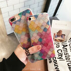 For iPhone XS X 7 8 Plus  Bling Glitter Pink Girly Phone Case Protective Covers