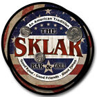 Sklar Family Name Drink Coasters - 4pcs - Wine Beer Coffee & Bar Designs