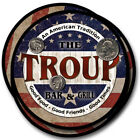 Troup Family Name Drink Coasters - 4pcs - Wine Beer Coffee & Bar Designs