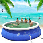 Best Paddling Pools - Family Inflatable Swimming Wading Paddling Pool Deep Kids Review