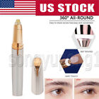 Внешний вид - Women's Brows Painless Trimmer Electric Eyebrow Facial Hair Remover LED Light US
