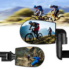 1/2PC 360° Rotate Handlebar Glass Rearview Mirror for Bike Bicycle Cycling Mirro