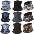 Winter Fleece Neck Gaiter Tube Warmer Cycling Half Face Cover Scarf Snood US