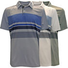 Skechers GoGolf Slice Engineered Stripe Polo Golf Shirt,  Brand New