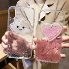 Utral Thin Shock proof Glitter Liquid Soft Case Cover For i Phone X/8/6S/8p/XS