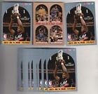 Lot of 25 1990-91 Hoops David Robinson All Rookie Team Promos