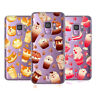 HEAD CASE DESIGNS KAWAII PUPPIES AND SWEETS SOFT GEL CASE FOR SAMSUNG PHONES 1