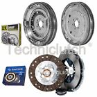 SACHS 3 PART CLUTCH KIT AND LUK DMF FOR VW JETTA SALOON 1.6 TDI