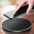 Qi 10W Wireless Fast Charger Charging Pad For Samsung Note 8 S9 Phone X 8 Plus