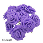 COLORFUL ARTIFICIAL ROSE FLOWERS BRIDE PARTY HOME WEDDING DECOR DIY GIFT PRESENT
