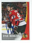 Viktor Svedberg Signed 2015/16 Upper Deck Star Rookies Card #22
