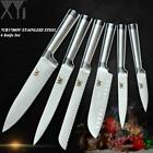 XYj Top Quality Stainless Steel Kitchen Knive Sets Fruit Vegetable Bread Meat Kn