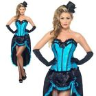Ballerina di Burlesque Costume Moulin Rouge Can Can Donna Costume, Nuovo