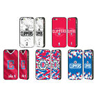NBA 2018/19 LOS ANGELES CLIPPERS BLACK SLIDER CASE FOR APPLE iPHONE PHONES