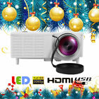 1080P Portable Mini LED Projector Home Theater Cinema Multimedia HDMI VGA AV USB