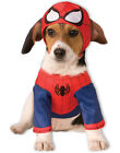 Marvel Spiderman Mascota Perro Superhéroe Halloween Disfraz Cosplay
