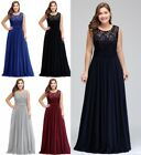 Evening Long Prom Dresses Formal Party Ball Gown Bridesmaid A-line Gown Plus