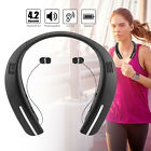 Wireless Bluetooth 4.2 Headphones Sport Stereo Earphone Neckband Headset Earbuds