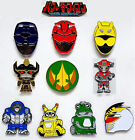 """2018 Power Rangers Morphicon Convention Exclusive Pins 1½"""" —> Your Choice & Set"""
