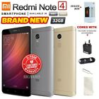 New & Sealed Factory Unlocked Xiaomi Redmi Note 4 Grey Gold 32gb Android Phone