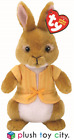 "TY BEANIE PETER RABBIT & FRIENDS SOFT TOYS - 7"" (18CM) LICENCED, NEW MOVIE"