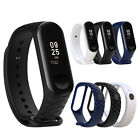 Silicon Wristband Smart Band Watch Bracelet Wrist Strap for XIAOMI MI Band 3