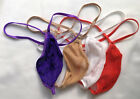 Men's G String Thong Super Stretchy FISH NET Stocking TEAR DROP Expandable Grow