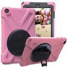 For Amazon Kindle Fire HD 8 8th Gen 2018 Tablet Case Rotating Heavy Stand Cover