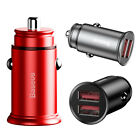 Dual USB Port 30W Fast Charging Car Charger w/Qualcomm Quick Charger QC 3.0 AFC $9.99 USD on eBay