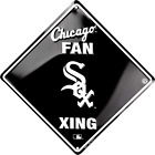 Chicago White Sox Baseball X-ing Sign Metal  New