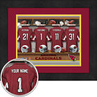 Arizona Cardinals Personalized NFL Football Locker Room Jersey Sports Print Gift on eBay