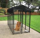Big Dog Large Outdoor Welded Wire Kennel Cage Heavy Duty Portable Multiple Sizes