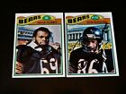 Revie Sorey 1977 Topps #296 Autographed Chicago Bears Card Auto Vintage '70s