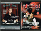 Wally Eastwood Live DVD + Ron James + Poker Florishes + 1973 Greeting Card, 4DVD