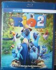 """Rio 2  """"  Blu-Ray Movie Disc, Case it came in and Artwork"""