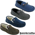 Lambretta Moccasin Slippers Winter Warm Fur Lined Gift Box Soft Padded UK 6-12