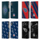 NFL 2017/18 TENNESSEE TITANS LEATHER BOOK WALLET CASE FOR APPLE iPHONE PHONES