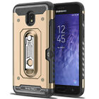 Hybrid Tough Armor Case Shockproof Kickstand Cover For Samsung Galaxy J3 2018