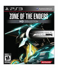 ZONE OF THE ENDERS~HD COLLECTION~12 NEW SEALED PS3 GAME~SONY PLASTATION 3~MATURE