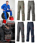pantalone UPOWER lavoro multitasche COTONE taglie forti officina RED LION cargo