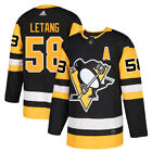 58 A Kris Letang Jersey Pittsburgh Penguins Home Adidas Authentic