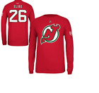 NHL Reebok #26 New Jersey Devils Hockey Jersey Long Sleeve Shirt New Mens Sizes $12.0 USD on eBay