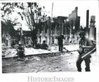 1970 Press Photo Tonle Bet Camnodia ruined after S Vietna soldier recaptured it