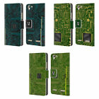 HEAD CASE DESIGNS CIRCUIT BOARDS LEATHER BOOK WALLET CASE FOR LENOVO PHONES