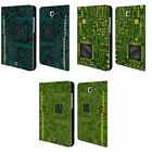 HEAD CASE DESIGNS CIRCUIT BOARDS LEATHER BOOK CASE FOR SAMSUNG GALAXY TABLETS