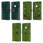 HEAD CASE DESIGNS CIRCUIT BOARDS LEATHER BOOK WALLET CASE FOR XIAOMI PHONES